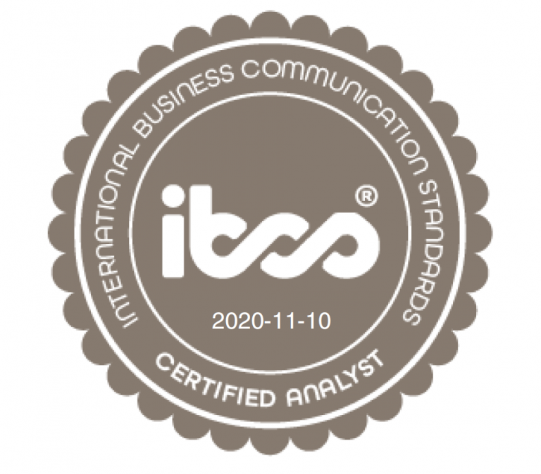 IBCS Certified Analyst