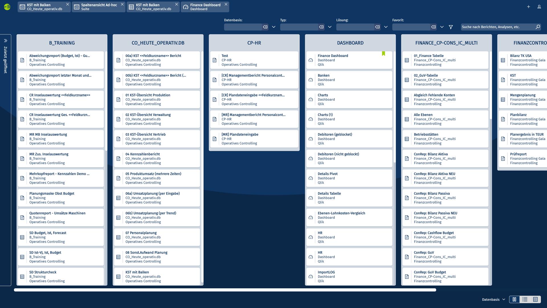 Corporate Planner | Zentrales Web-Portal